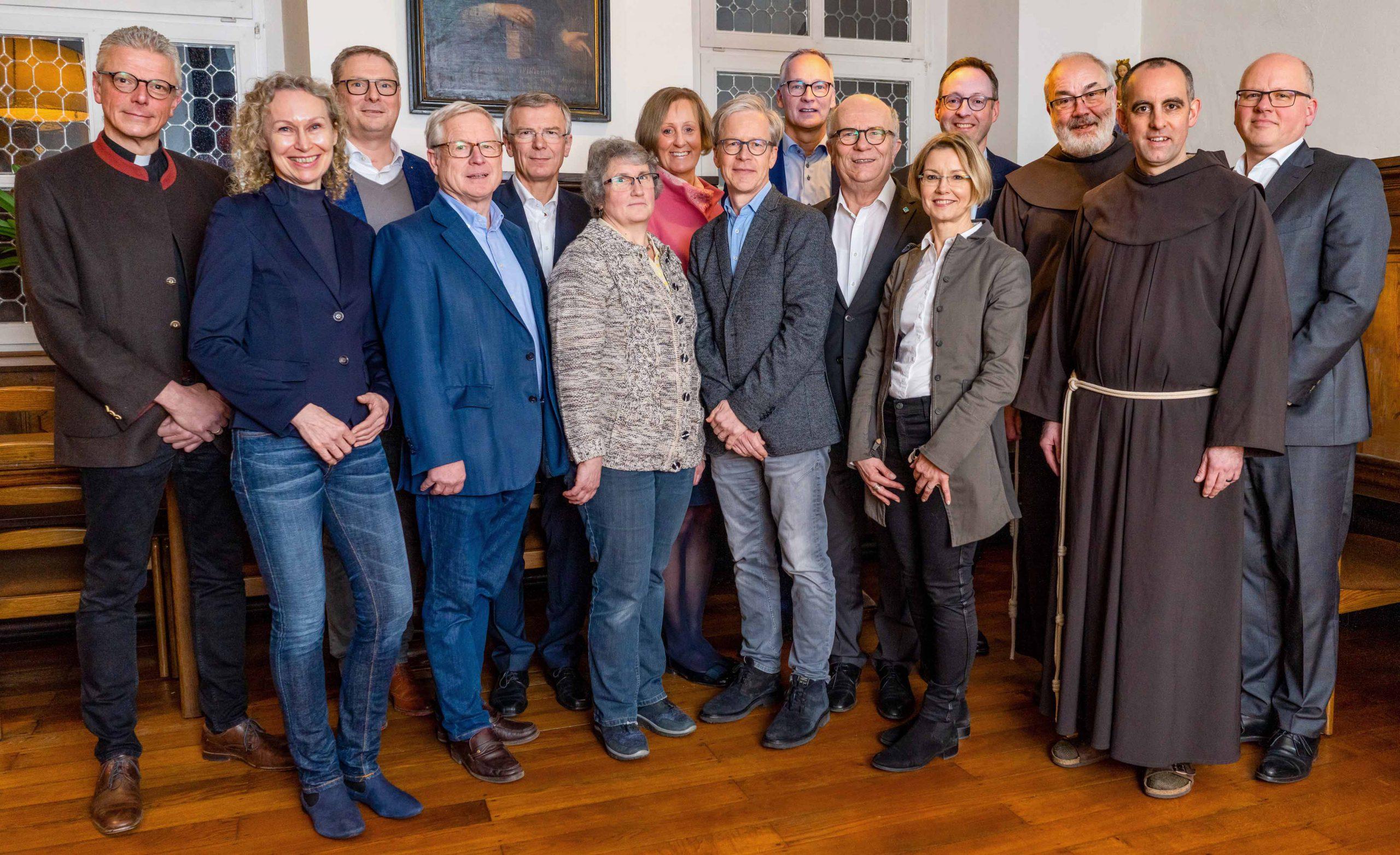 Kloster Wiedenbrück Gründungsversammlung 20.01.2020