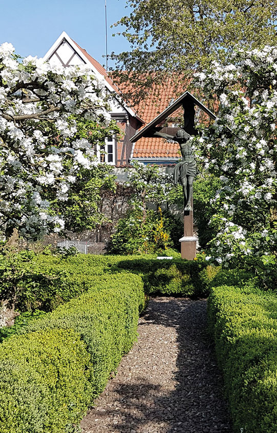 Kloster_wiedenbrueck_Klostergarten